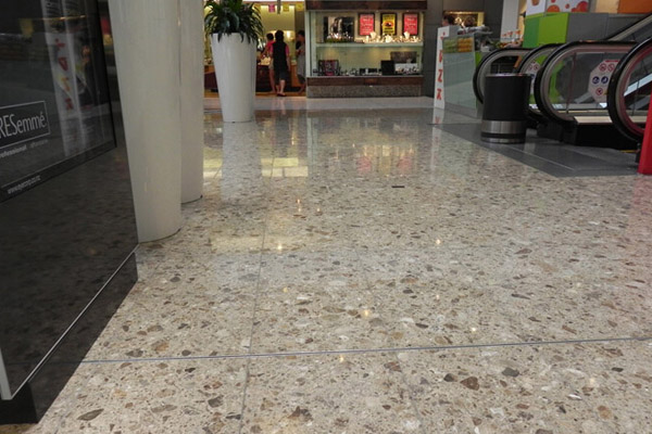 Artificial stone slab for shopping mall