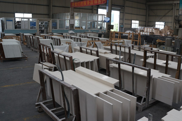 deep processing marble tiles or top table