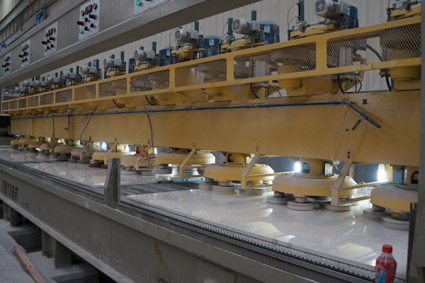 marble polishing machine lines