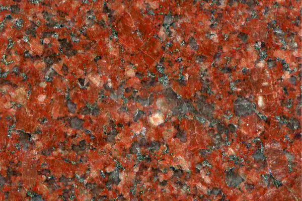 red natural granite for headstone fabrication