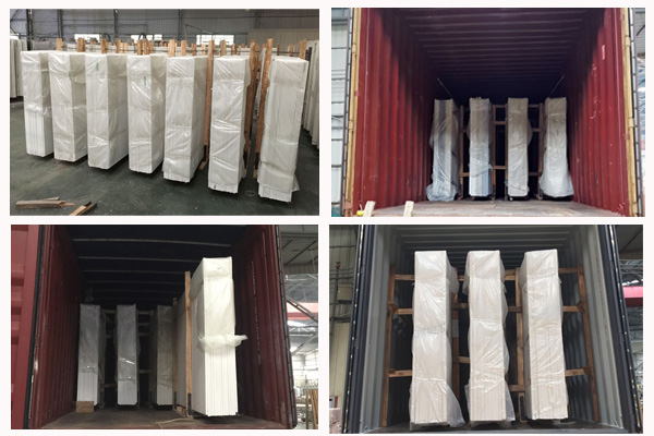 how to ship quartz slabs from China