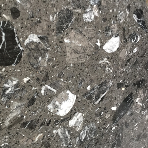 Grey marble composite tiles