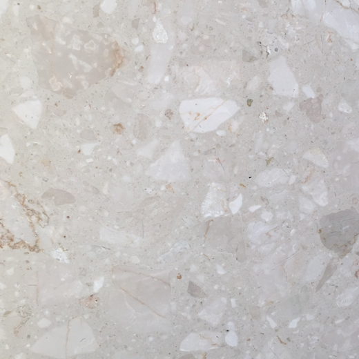 Agglomerated marble tiles